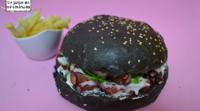 hamburguesas de pulpo