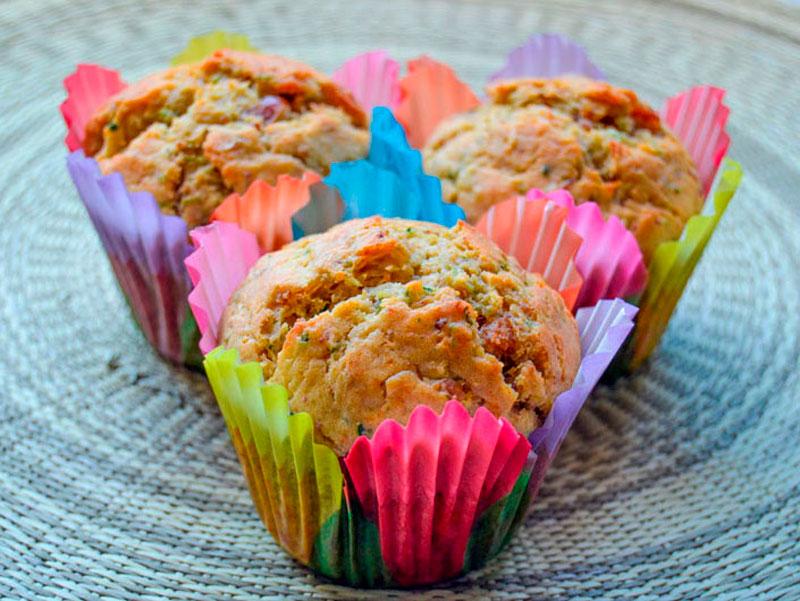 Muffins de calabacín por Madredetres