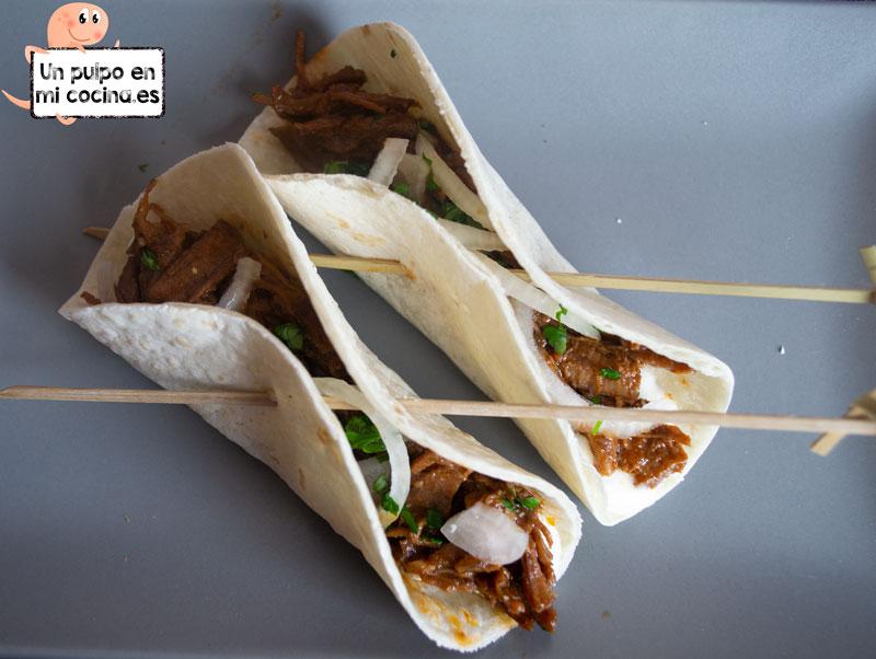 Tacos de ternera, receta de aprovechamiento