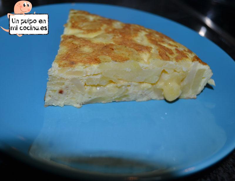 Tortilla de patata sin fritura