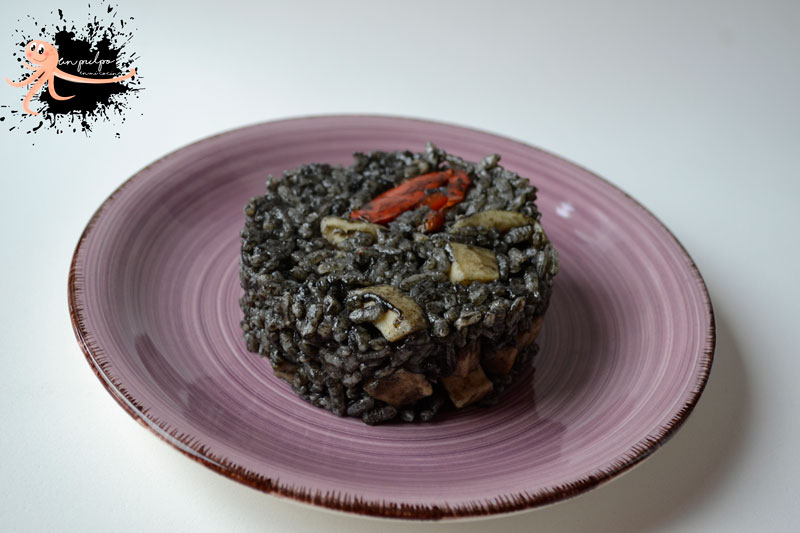 🥘 Arroz negro con sepia, una receta con mucho sabor a mar