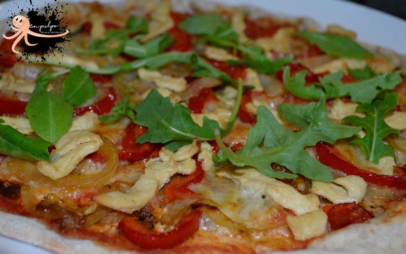 Pizza integral con Monsieur Cuisine
