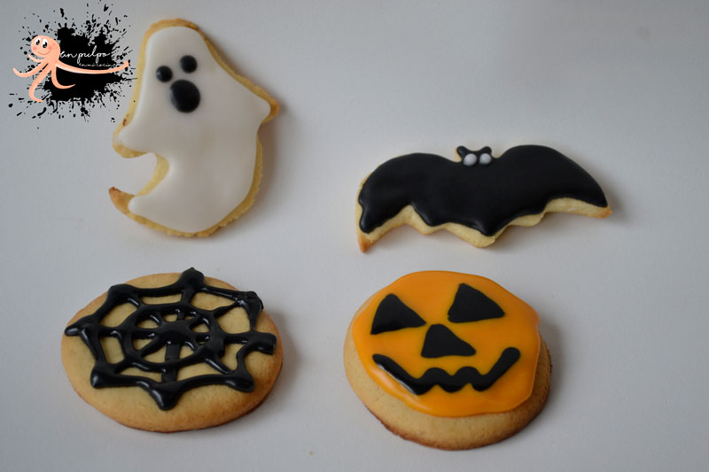 👻 Galletas de mantequilla para Halloween