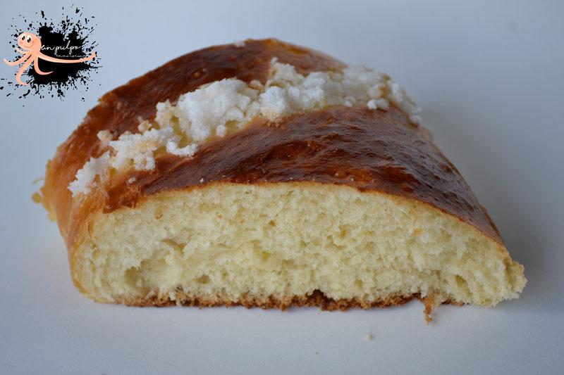 Roscón de Reyes 🐫🐫🐫 en panificadora, muy esponjoso y tierno.