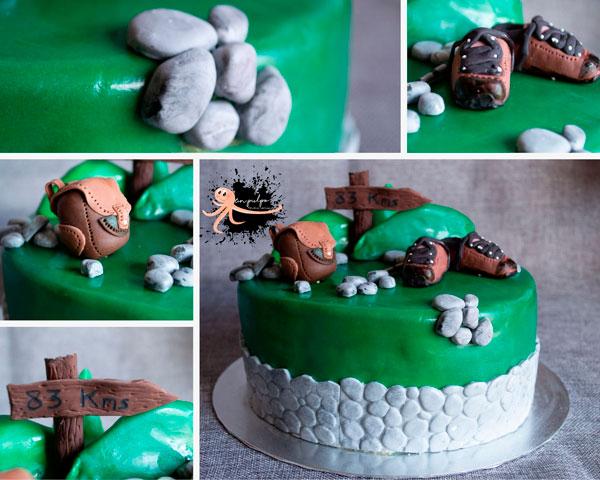 detalles de la tarta