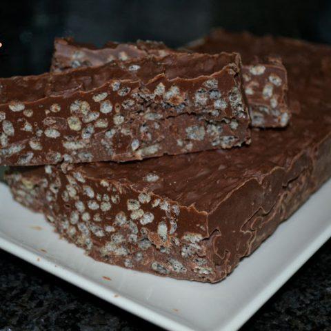 turron de chocolate sin frutos secos