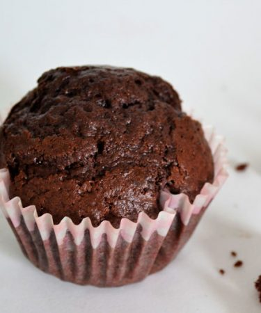 muffins de chocolate intenso