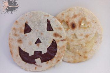 quesadillas para halloween